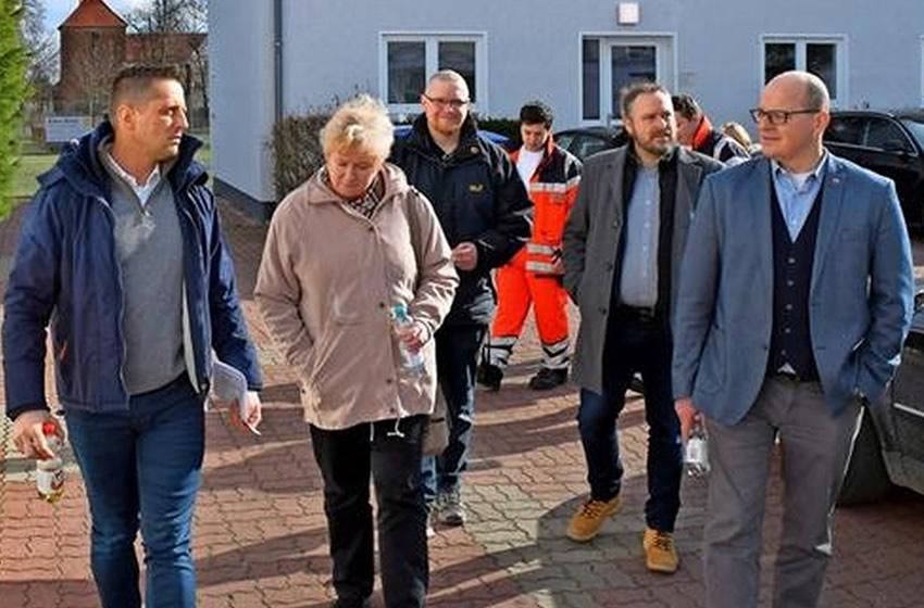 Besuch von Mitgliedern des Kreistages und der Kreisverwaltung