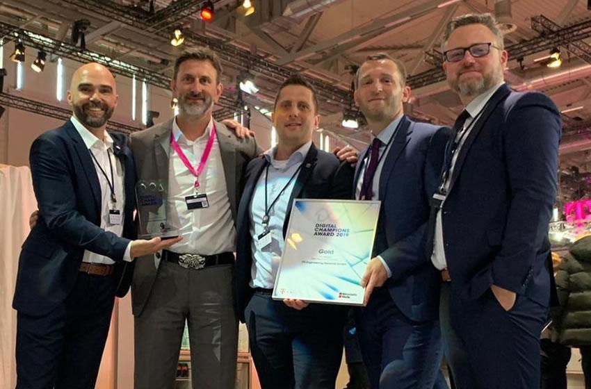 Digital Champions Award auf der Digital X in Köln