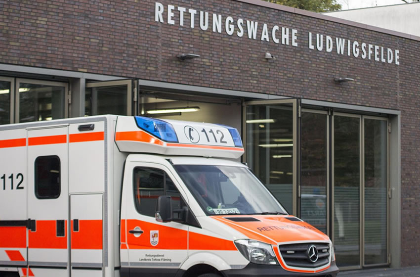 Neue Rettungswache Ludwigsfelde