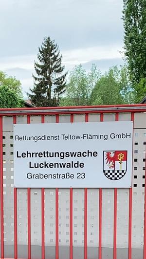 Lehrrettungswache Luckenwalde