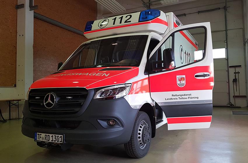 Neue Rettungswagen